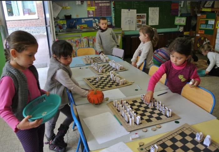 Le jeu d'Échecs à l'école